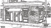 Sketch of Barrington Store Front