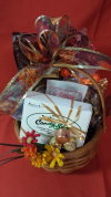 Fall Greetings Basket