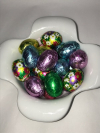 Foiled Solid Chocolate Eggs 8 oz