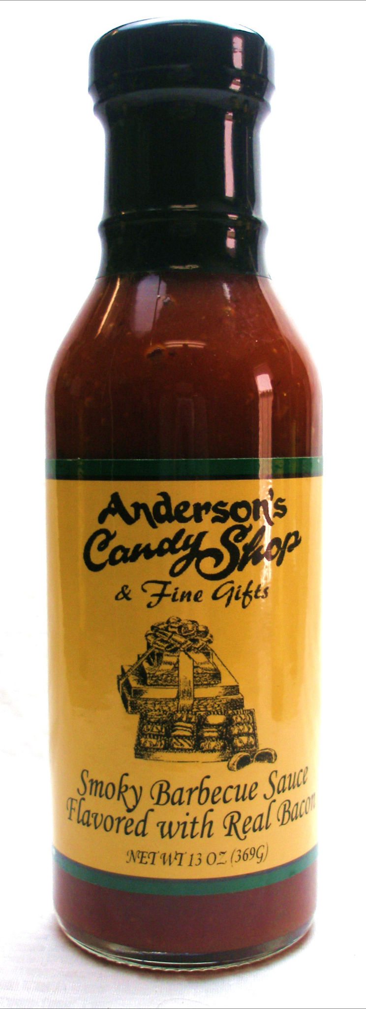 Smoky Barbecue Sauce Flavored with Real Bacon, Anderson's Candy Shop ...