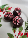 Candy Cane Truffle (12pc)