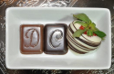 Chocolate Monograms